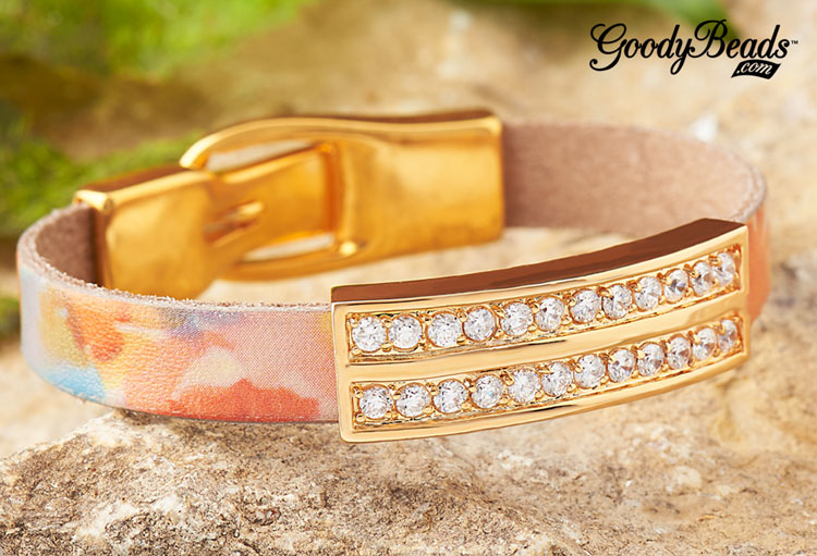 GoodyBeads | Blog Golden Watercolor Bracelet