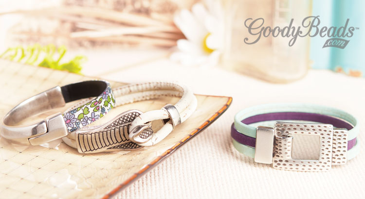 Goody Beads Blog Easy Leather Bracelets
