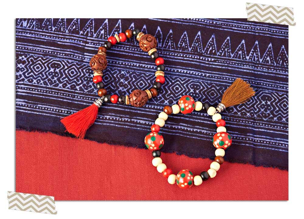 Goody Bead Blog | Wood Tassel Bracelet