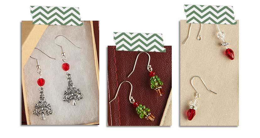 GoodyBeads.com Blog | Christmas Earring Kit