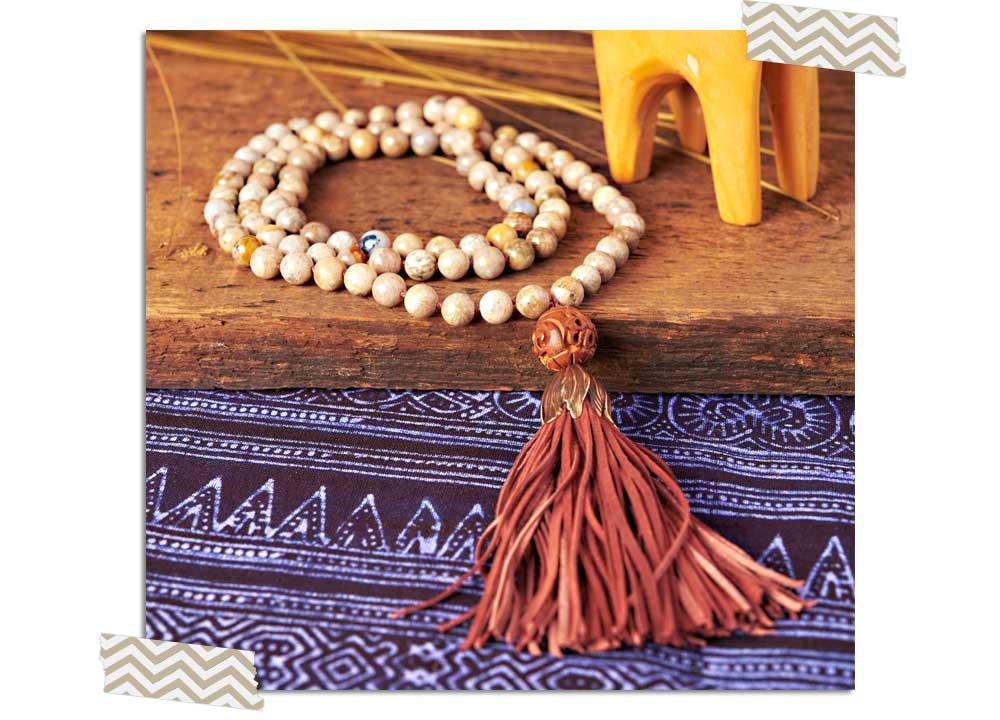 Goody Beads Blog | Mala Meditate Necklace