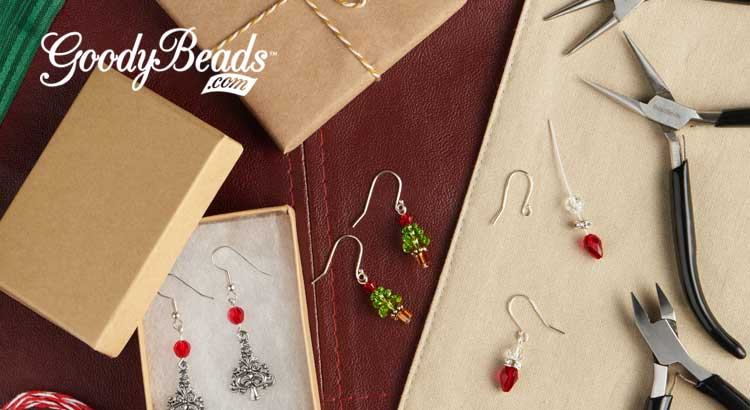 GoodyBeads.com Blog | Headpin Wire Loop Tutorial: Christmas in July Edition