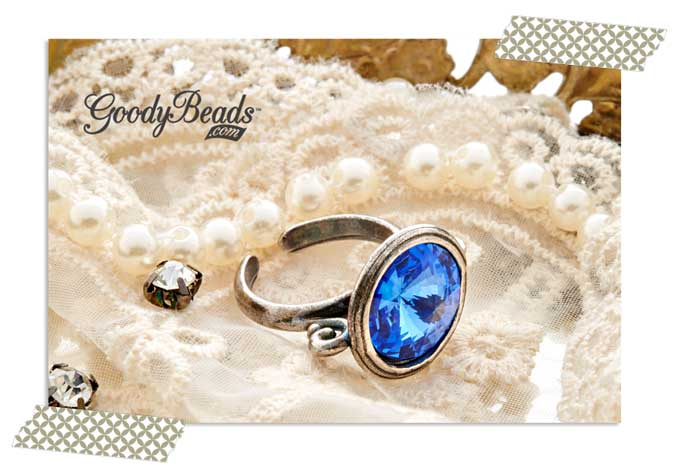 GoodyBeads.com Blog   Sapphire Birthstone Ring