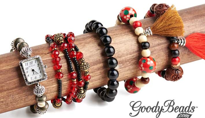 GoodyBeads.com Blog | Easy Elastic Bracelet Tutorial