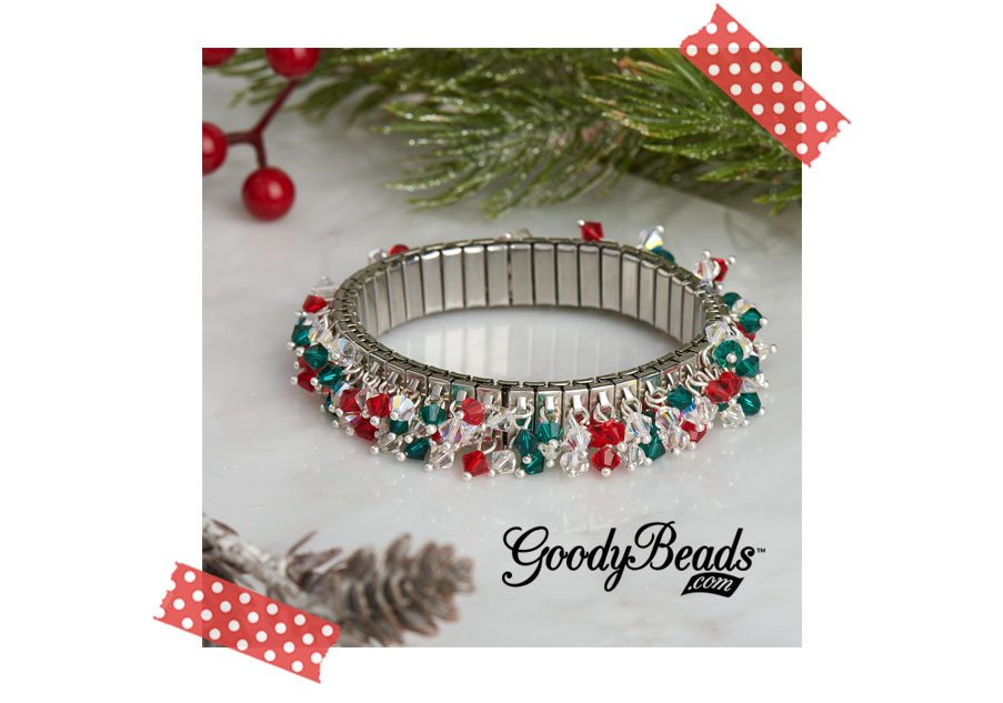 GoodyBeads.com Blog Holiday Swarovski® Cha-Cha Bling
