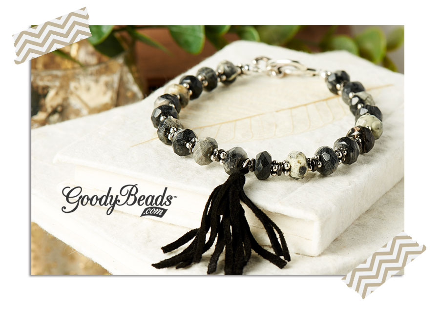 """GoodyBeads.com Blog"" Terrific Tassel Bracelet"