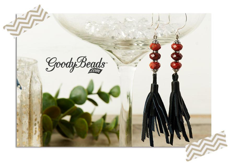 """GoodyBeads.com Blog"" Terrific Tassel Earrings"