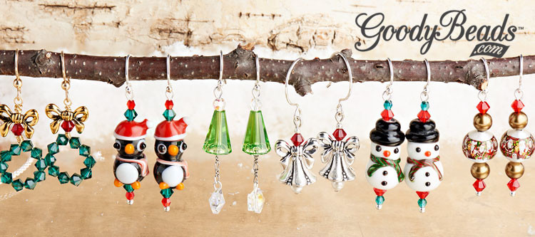 GoodyBeads.com Blog Merrily Bright Holiday Earring Kits