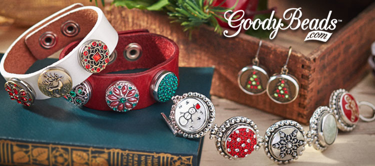 GoodyBeads.com Blog | Holiday Snap Charm Jewelry