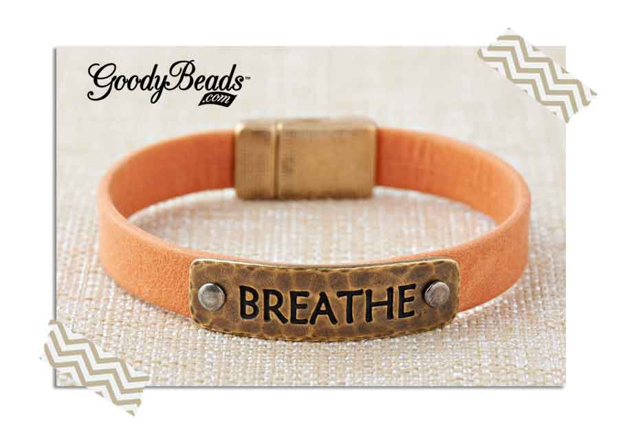 GoodyBeads.com | Blog: How to Rivet - Leather Bracelet Rivet