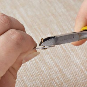For nail rivets, it is alright if the length is long, as you will be using a flat side cutter to cut the excess piece off. Make sure when you cut to leave 1-2mm of the nail stub.