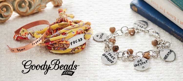GoodyBeads.com Blog | Resolution Braceletes - Metal Stamping