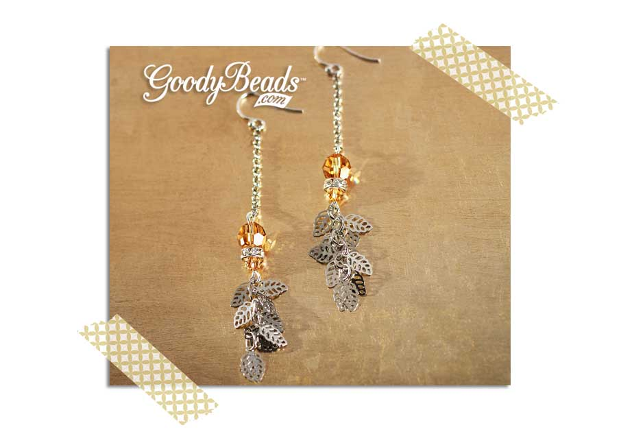 GoodyBeads.com Blog |New Years Eve Swarovski® Earrings: Swarovski® Rhinestone Earrings