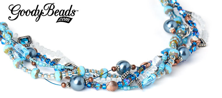 GoodyBeads.com Blog | Beachykeen Multi-Strand Necklace Blog by Kristal Wick