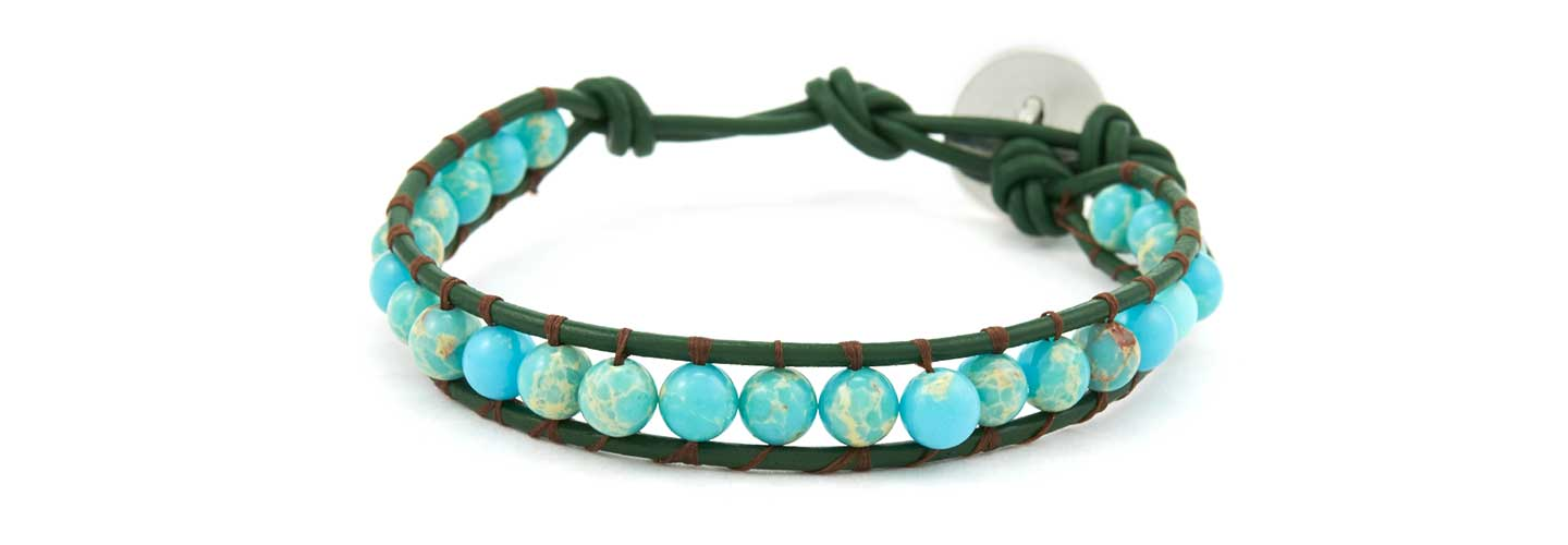 GoodyBeads.com | Blog: How to make Wrap Bracelets with Illustrated Tutorials - Single Wrap Bracelet
