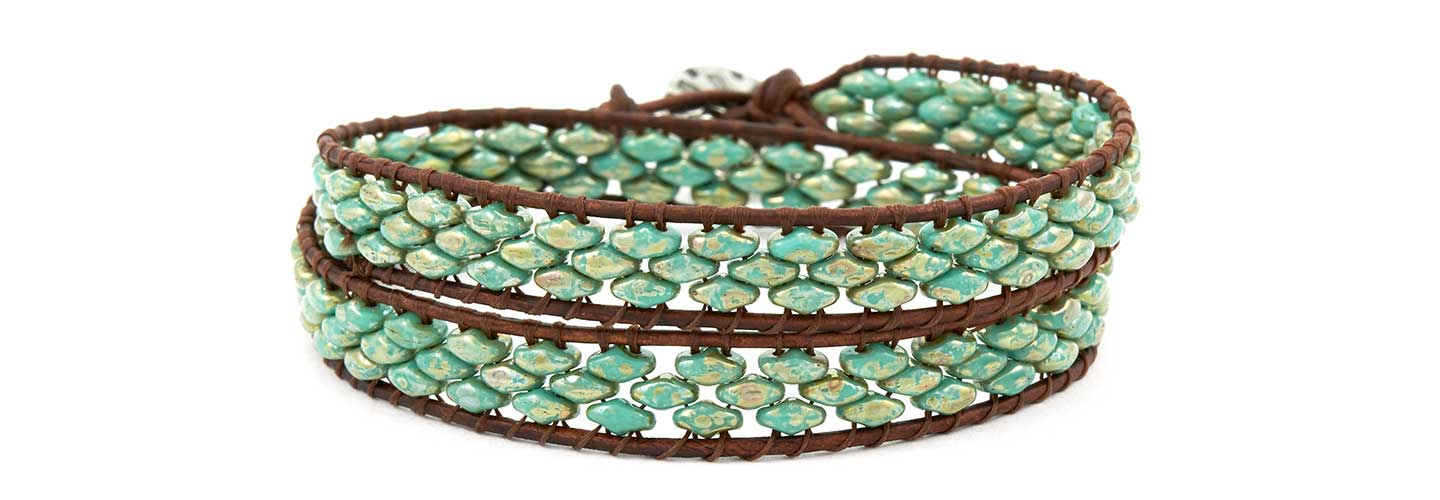 Goodybeads Blog How To Make Wrap Bracelets With Ilrated Tutorials Super