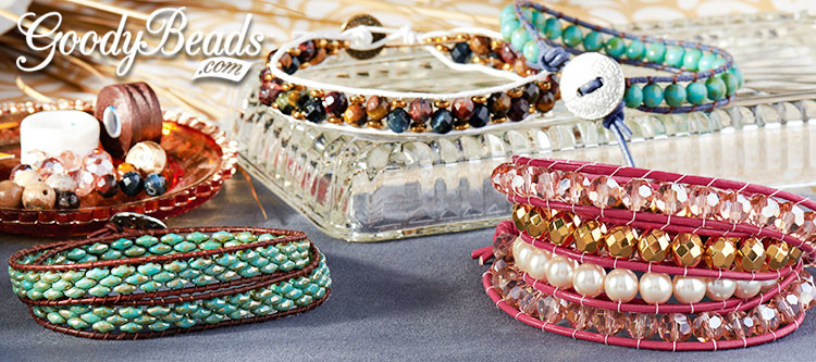 GoodyBeads.com | Blog: How to Make a Wrap Bracelet with Illustrated Tutorial