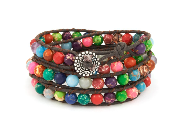 GoodyBeads.com | Blog: How to Use Your Leftover Beads - Wrap Bracelets