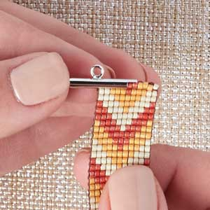 Step 3 Slide The Top Row Of Your Bracelet Through
