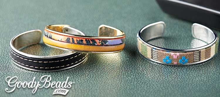GoodyBeads.com | Blog: Easy Leather Cuffs