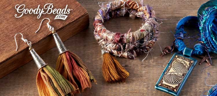 GoodyBeads.com | Blog: How to Use Silk Ribbon in Jewelry