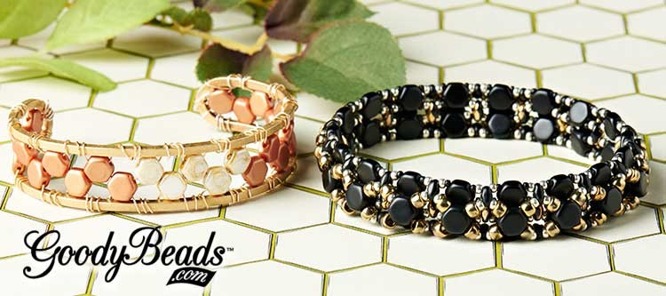 Czech Honeycomb Beads Bracelet Tutorial