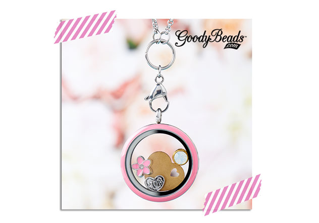 GoodyBeads.com | Blog: Mothers Day Floating Charm Locket