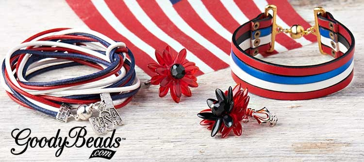 GoodyBeads.com | Blog: Memorial Day DIY Jewelry