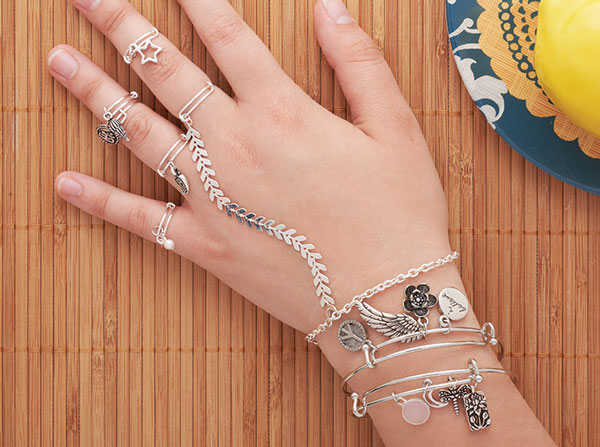 GoodyBeads.com | Blog: Make this boho-inspired ring-chain bracelet with our adjustable rings. Stack or layer them up for a fun-filled summer accessory.