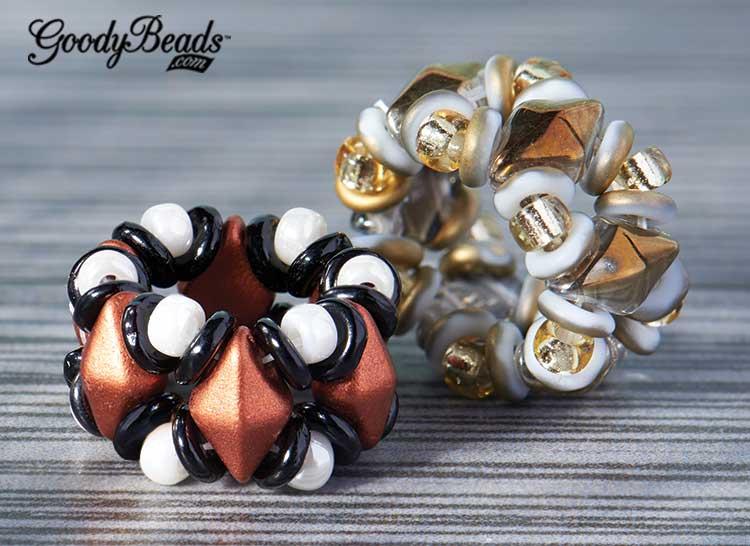 GoodyBeads | Diamond Duo Beaded Loops