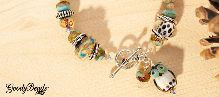 GoodyBeads | Blog: Hooting Owl DIY Bracelet And Necklace