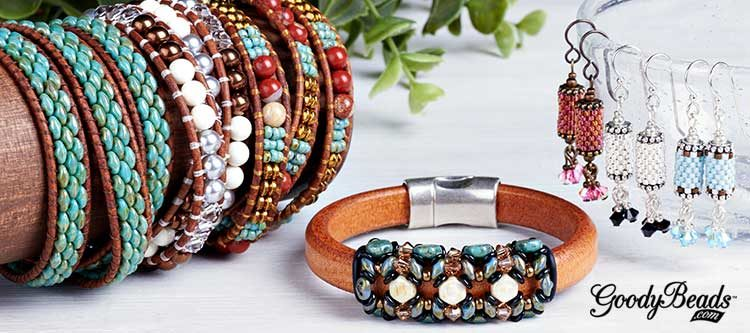 GoodyBeads | Blog: Leather Seed Bead Kits