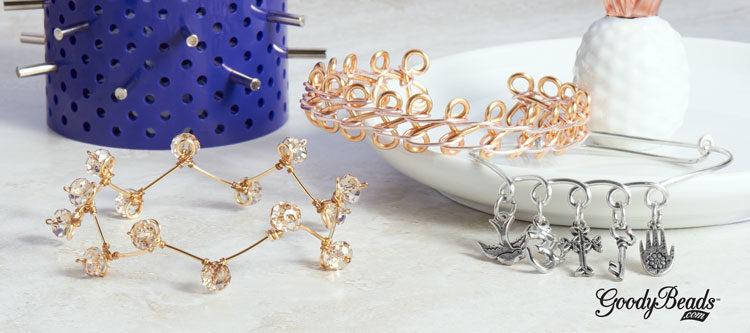 GoodyBeads | Blog: Artistic Wire 3D Bracelet Jig