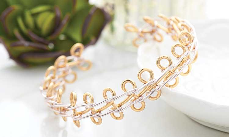GoodyBeads | Blog: Artistic Wire 3D Bracelet Jig 04