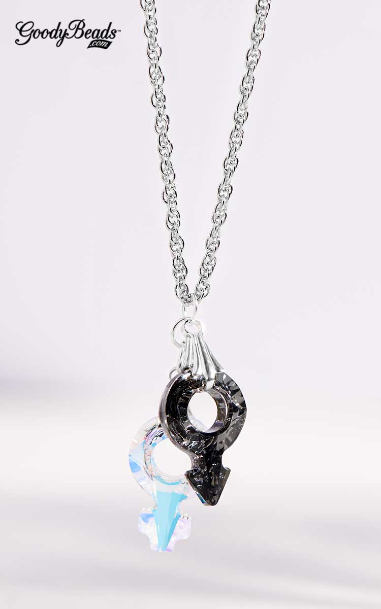 GoodyBeads | Blog: Swarovski® Fall/Winter 2017/2018 Collection: Jewelry Inspiration - Gender Stone Necklace