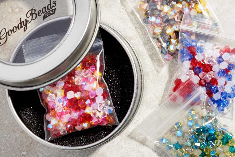 GoodyBeads Master Mix with Swarovski® 4mm Crystals
