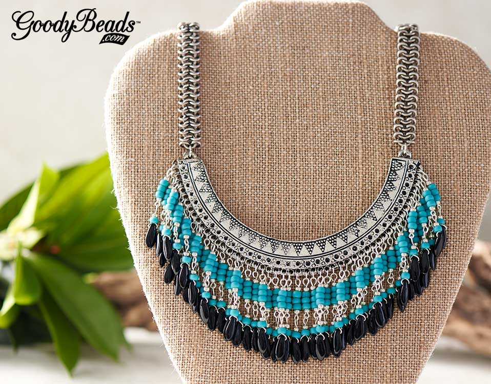 bohoinspired bib necklaces with free tutorial
