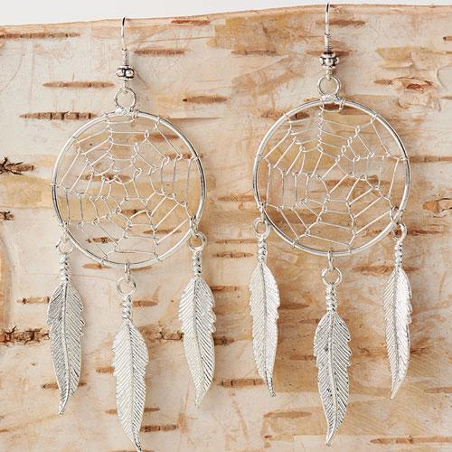 GoodyBeads | Blog: Easy DIY Charm Earrings - dreamcatcher charm earrings