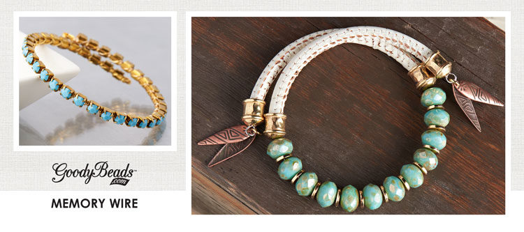 GoodyBeads | Blog: Jewelry accessories examples with memory wire