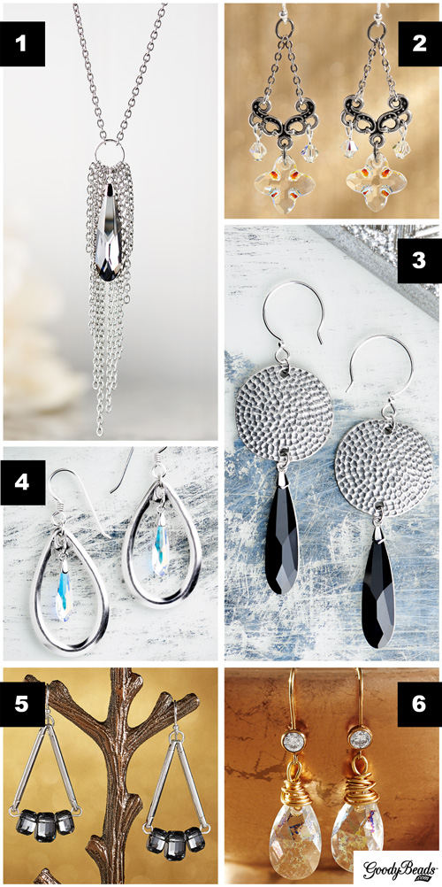 GoodyBeads | Blog: Swarovski Pendants and Stones - Jewelry inspiration