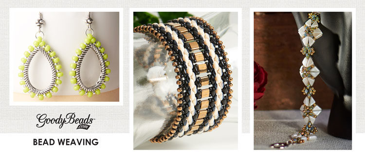 GoodyBeads | Blog: Beading weaving and stitching inspiration with free tutorials.