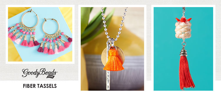 GoodyBeads | Blog: Fiber Tassel Jewelry Inspiration Designs