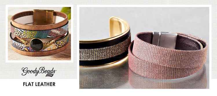 GoodyBeads | Blog: Flat leather inspirational bracelets