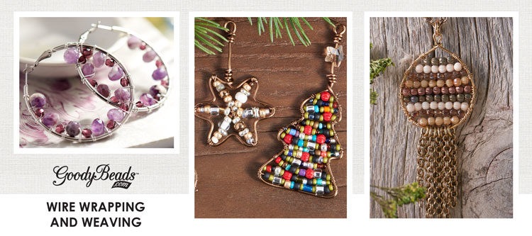 GoodyBeads | Blog: Inspirational wire wrapping and weaving jewelry designs