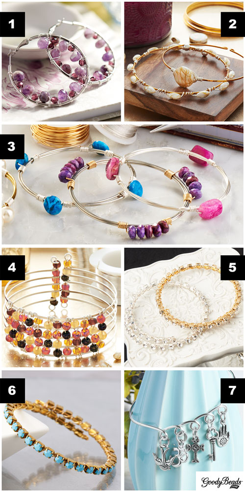 weaving wire goodybeads inspiration wire wrappingweaving jewelry designs