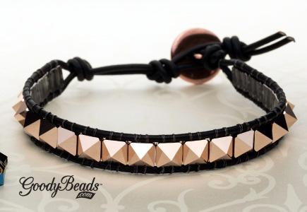 GoodyBeads | Blog: Swarovski Spike 2-Hole Beads