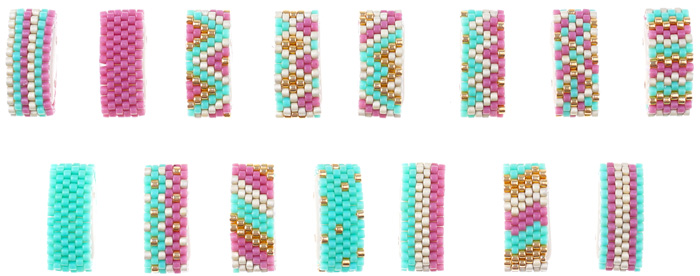 Peyote stitch | stitch piece n purl.