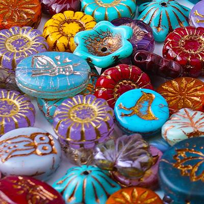 GoodyBeads.com Blog   The Art of Czech Beads with Lenka Bindzar from Raven's Journey - Czech Beads